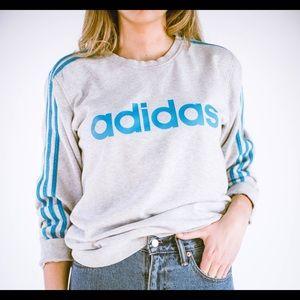 Sweaters - VINTAGE adidas Crew Neck Sz M